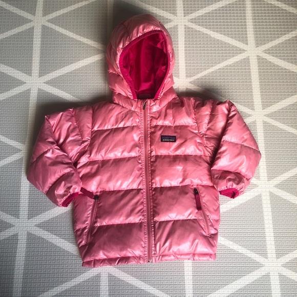 Patagonia Other - Patagonia Girls Hi-Loft Down Sweater Hooded Jacket